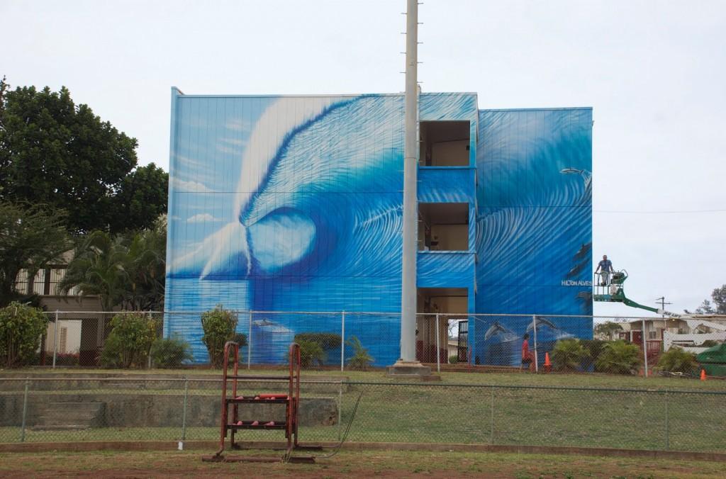 Kahuku Mural - Hilton Alves