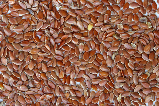 Flax seeds - Excellent brain nutrition.