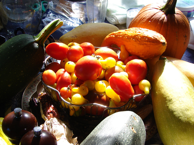 Fruit Arrangement (wikimedia commons)