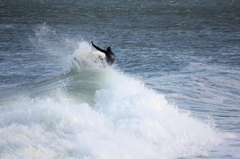 Surfing Cali