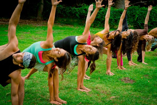Outdoor Yoga - Badfish Booty Girls Pose