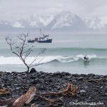 Surfing Alaska photo by Scott Dickerson