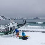 Helisurfing Alaska - by Scott Dickerson