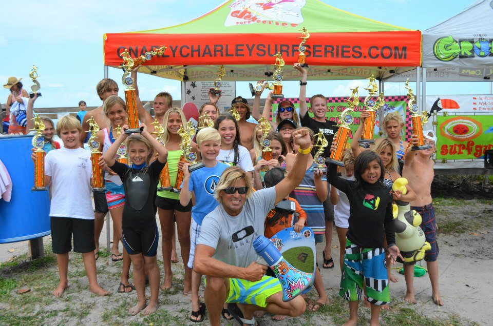 Gnarly Charley Grom Surf Series