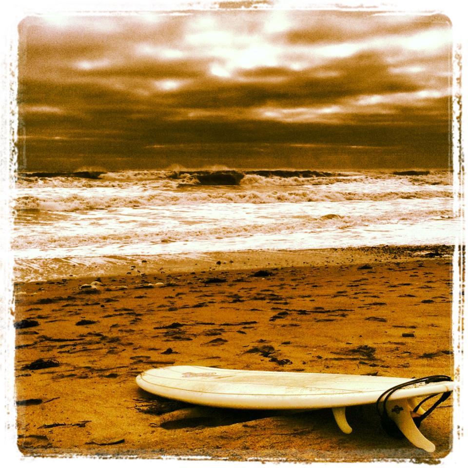 Surfboard - Rye beach.