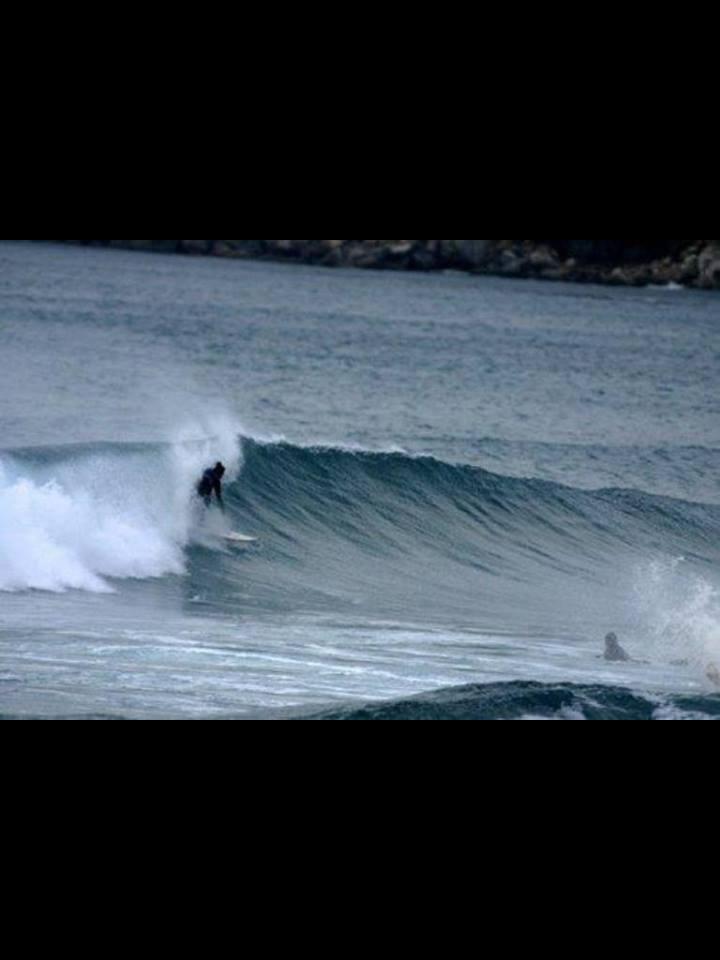 Surfing Sardinia, Italy