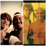 Ricardo Lange - with Jordy Smith and Kelly Slater