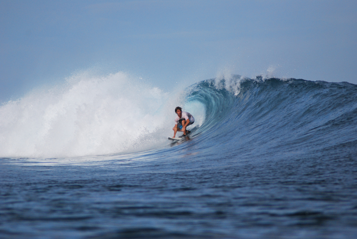 Surfing Indonesia - Linus