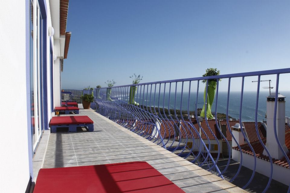 Chill in Ericeira Surfhouse view