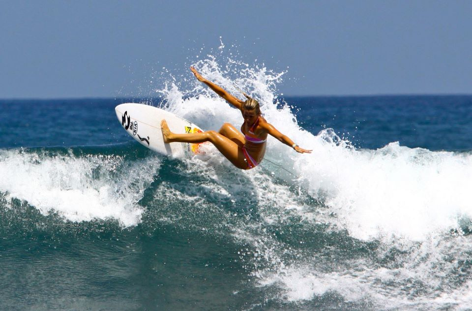 Joana Rocha - real surfing.