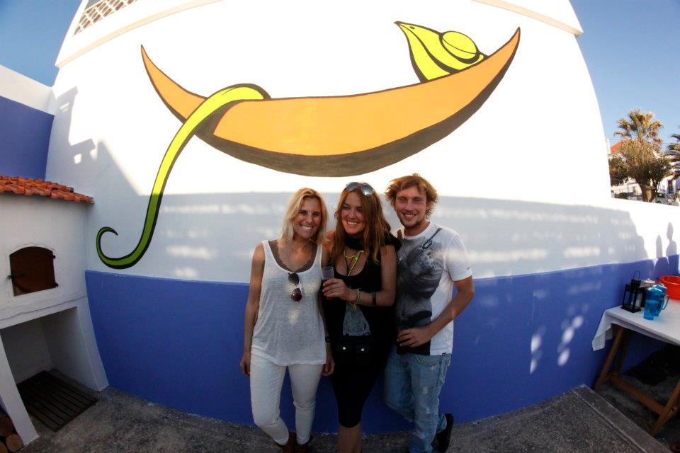 rocking out with joana rocha in the chill in ericeira surfhouse