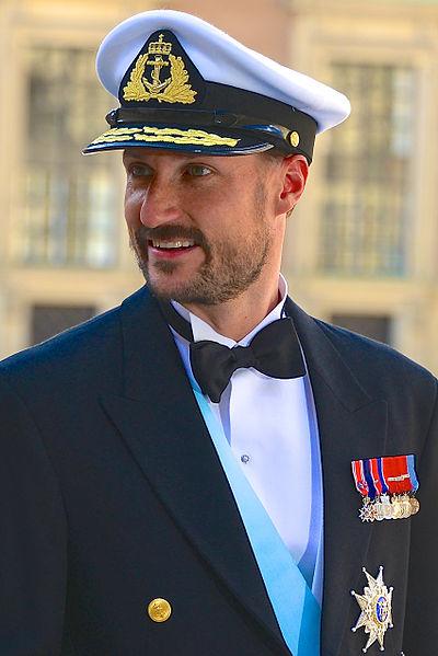 Kronprins Haakon Magnus - foto: Wikimedia Commons