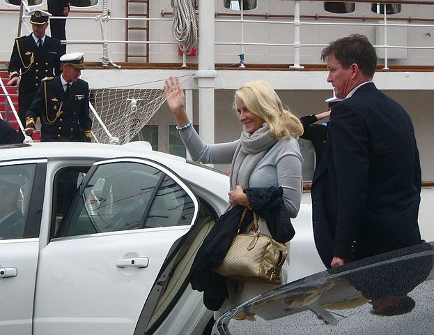 Mette-Marit i Stockholm, 2010. Foto: Wikimedia Commons