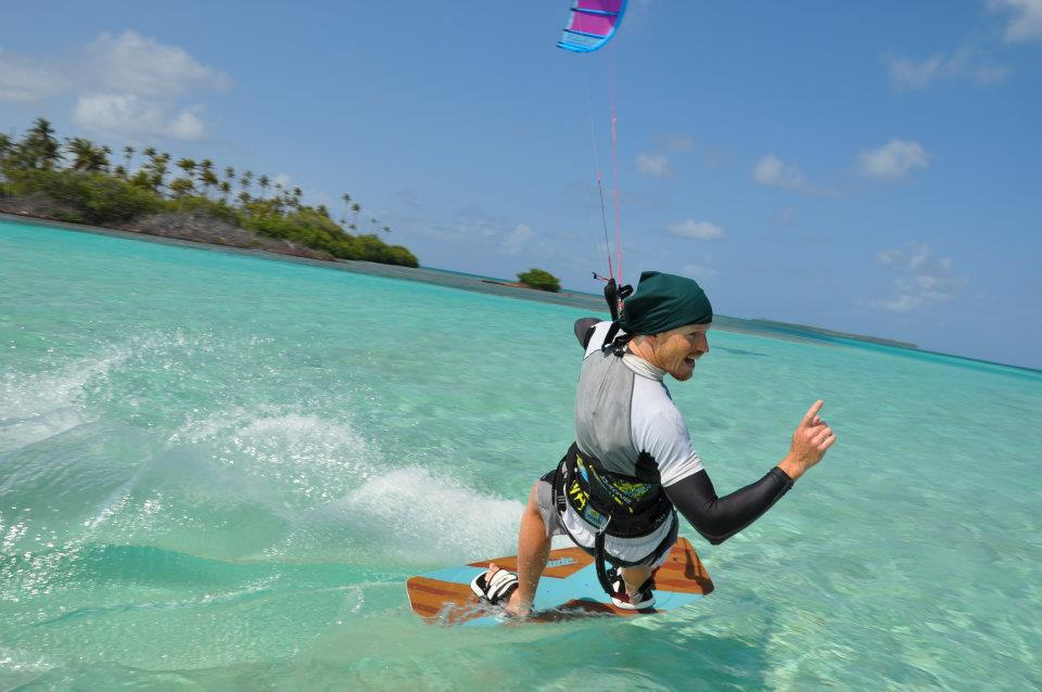 Nirvana Charters - Kite surf.