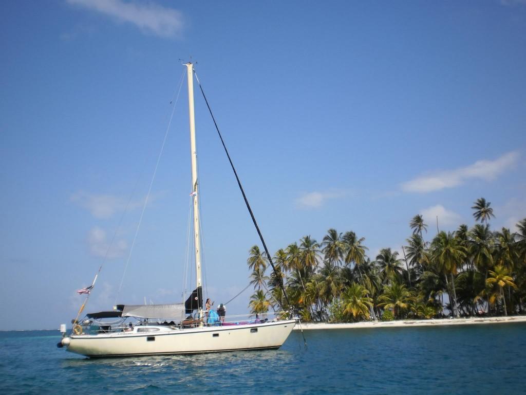 Nirvana Charters Boat.