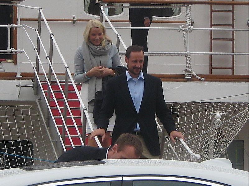 Haakon og Mette-Marit. Foto: Wikimedia Commons