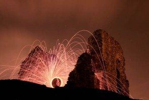 How to take steel wool photography with Olympus SH-25MR – tutorial.