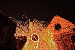 How to take steel wool photography with Olympus SH-50 – how to guide.