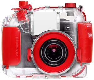 Olympus underwater housing for C5060 - Photo credit Olympus