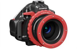 Underwater camera housing for Olympus OM-D EM5 - Photo by Olympus