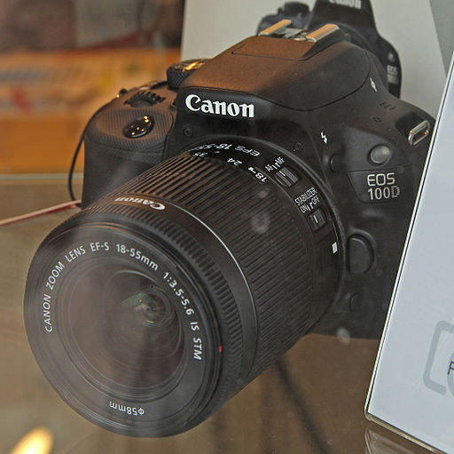 Canon EOS 100D - Photo Wikipedia