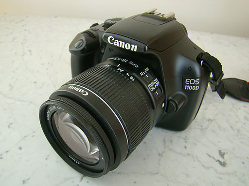 Canon EOS 1100D - Photo Wikimedia