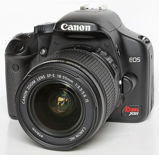 Canon EOS 450D - Photo Wikimedia