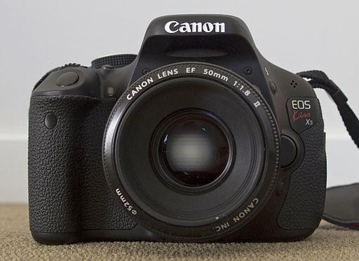 Canon EOS 600D - Photo Wikimedia
