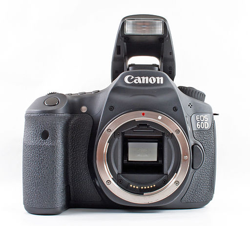 Canon EOS 60D - Photo Wikimedia