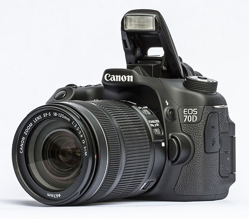 Canon EOS 70D - Photo Wikimedia