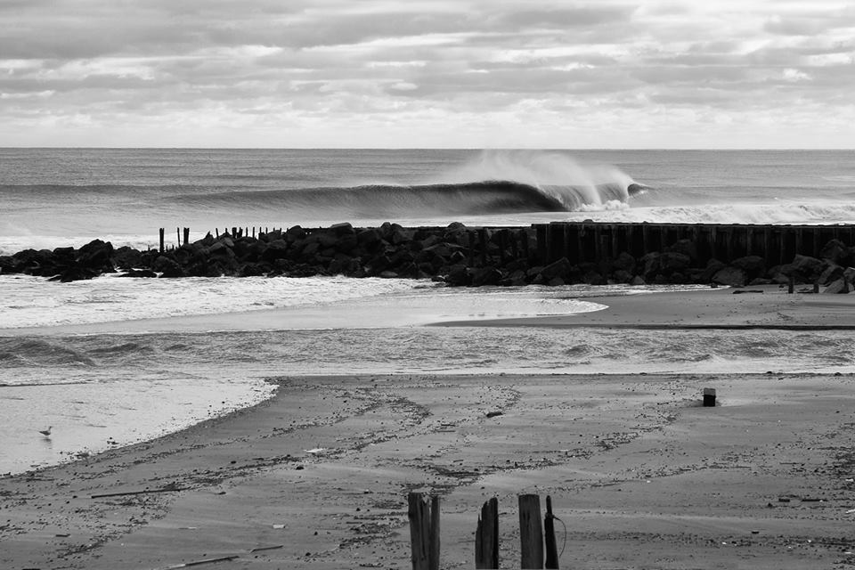 Robert Siliato - Winter swell in New Jersey