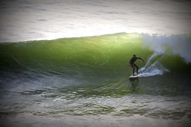 Nice wave in Safi Morocco