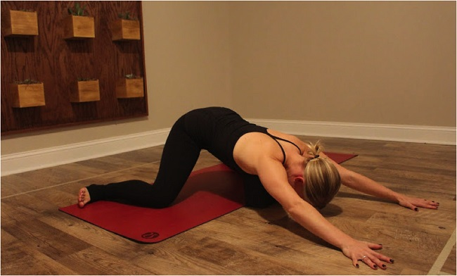 Froskestilling-yoga