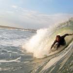 Brendan Tighe surfing Point Pleasant, New Jersey © Matthew Lang
