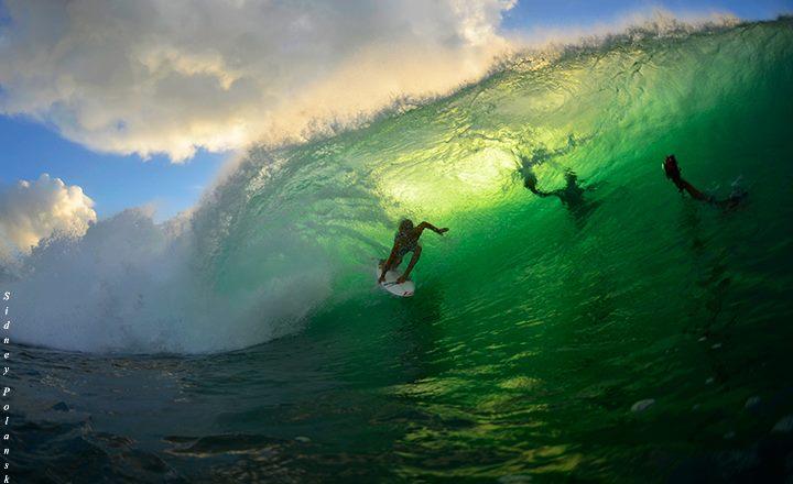 Jack Robinson surfing at Padang