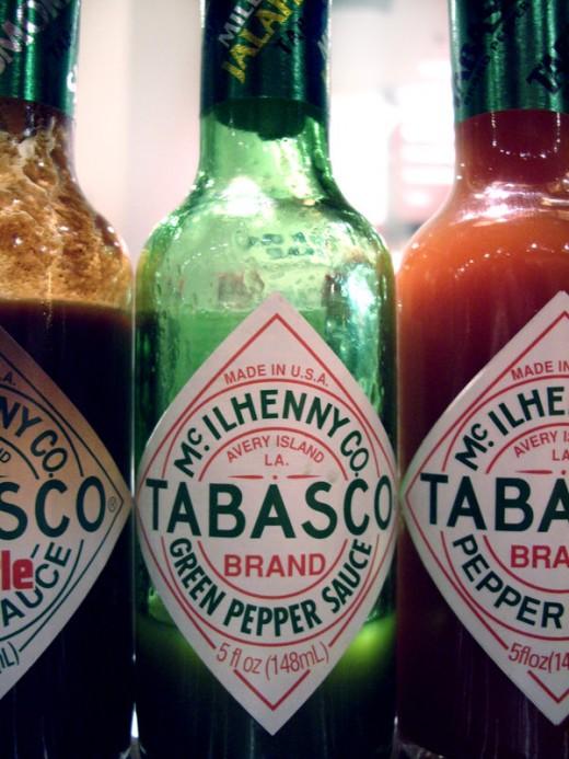 Tomato and Tabasco juice - Photo Wikimedia Commons