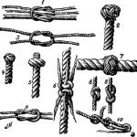 Båtmannsknuter. Foto: Wikimedia Commons