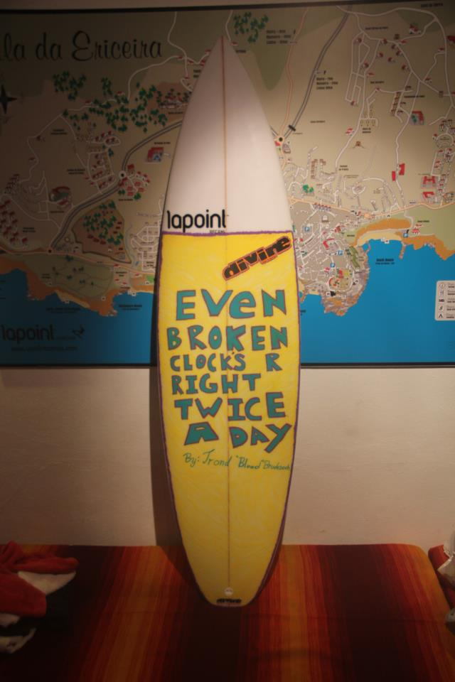 Even Broken Clocks work Twice a Day... by Timothy Latte