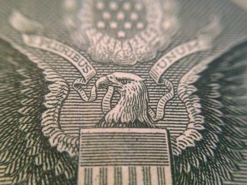 Dollar bill macro - Photo credit R Stevenson