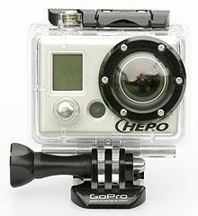 GoPro HD HERO Original - Photo by Wikimedia Commons
