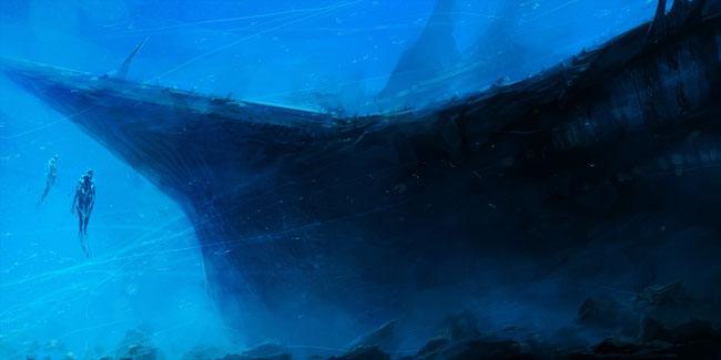 Underwater Art Photo