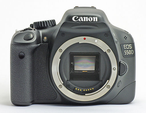 Canon EOS 550D - Photo WIkimedia