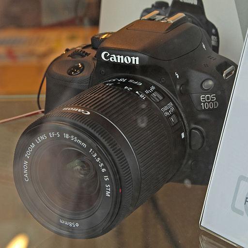 Canon EOS 100D - Photo Wikipedia