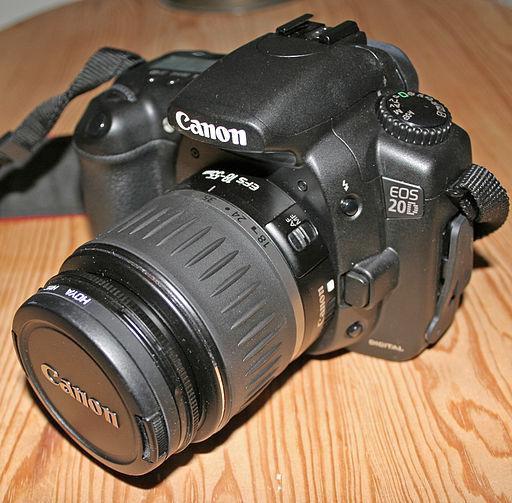 Canon EOS 20D - Photo Wikimedia