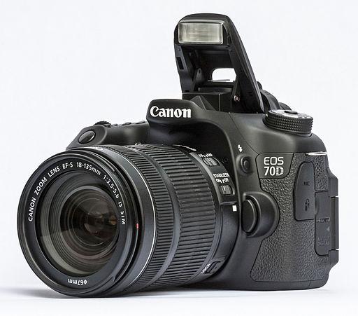 Canon EOS 70D - Photo Wikimedia